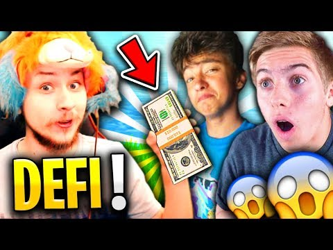 JE DONNE MA THUNE A DES JEUNES YOUTUBERS SUR FORTNITE BATTLE ROYALE !!! (Ft. Michou & Inoxtag)