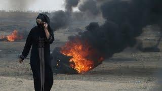 Deadly violence erupts at Israel-Gaza border as U.S. Embassy opens in Jerusalem