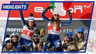 Goggia e Brignone: che doppietta a St. Moritz!