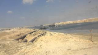 New Suez Canal: Special expulsion pipes Btkirk channel