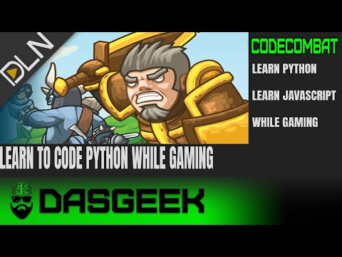 Learn To Code While Playing Games! CodeCombat For Python & JavaScript