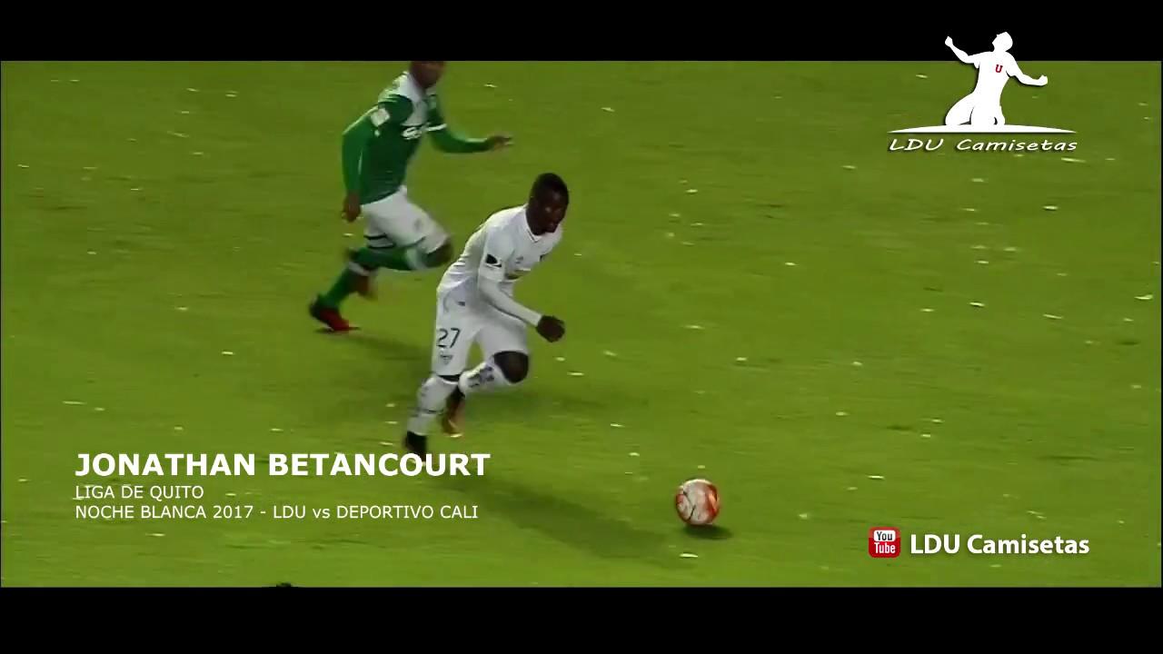 Gol de Jonathan Batancourt [ Liga de Quito 4-3 Deportivo Cali ] Noche Blanca 2017 HD 720p