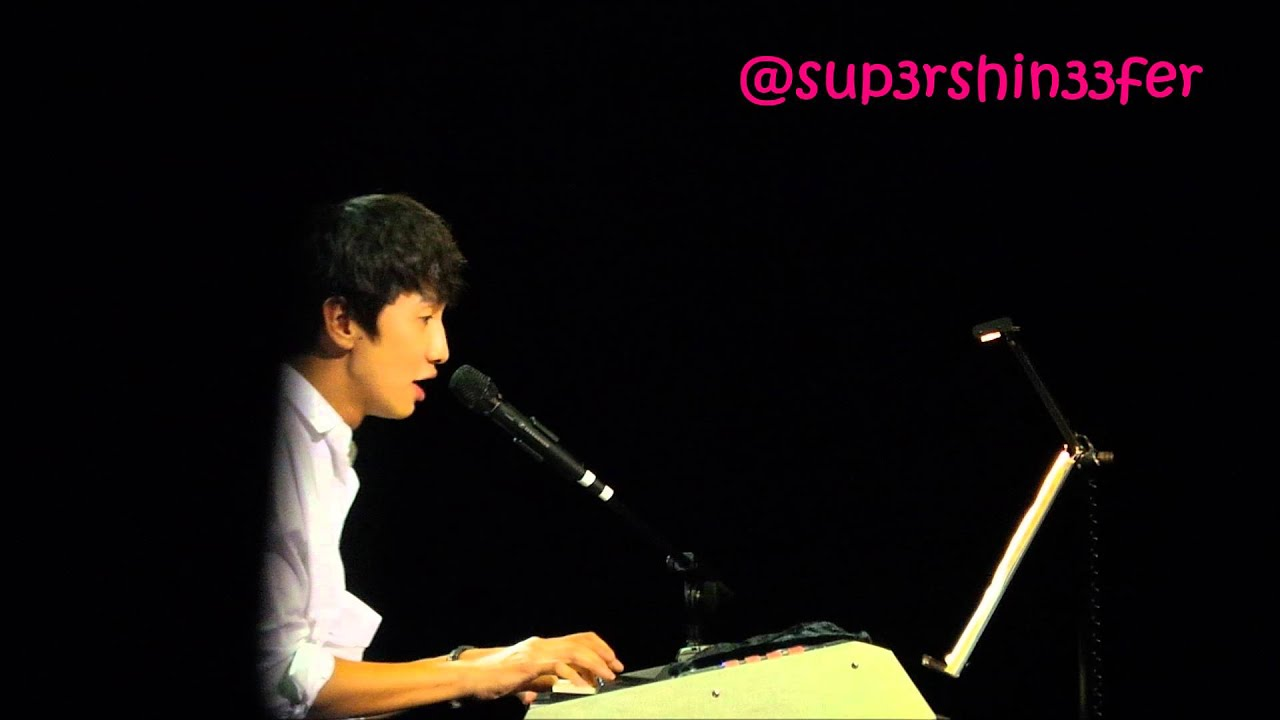 [HD FANCAM] 130817 Lee Kwang Soo @ Singapore Fanmeet- Because I Love You