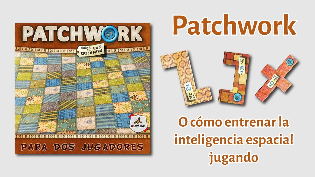 Patchwork Juego De Mesa Resena Tetris E Inteligencia Espacial