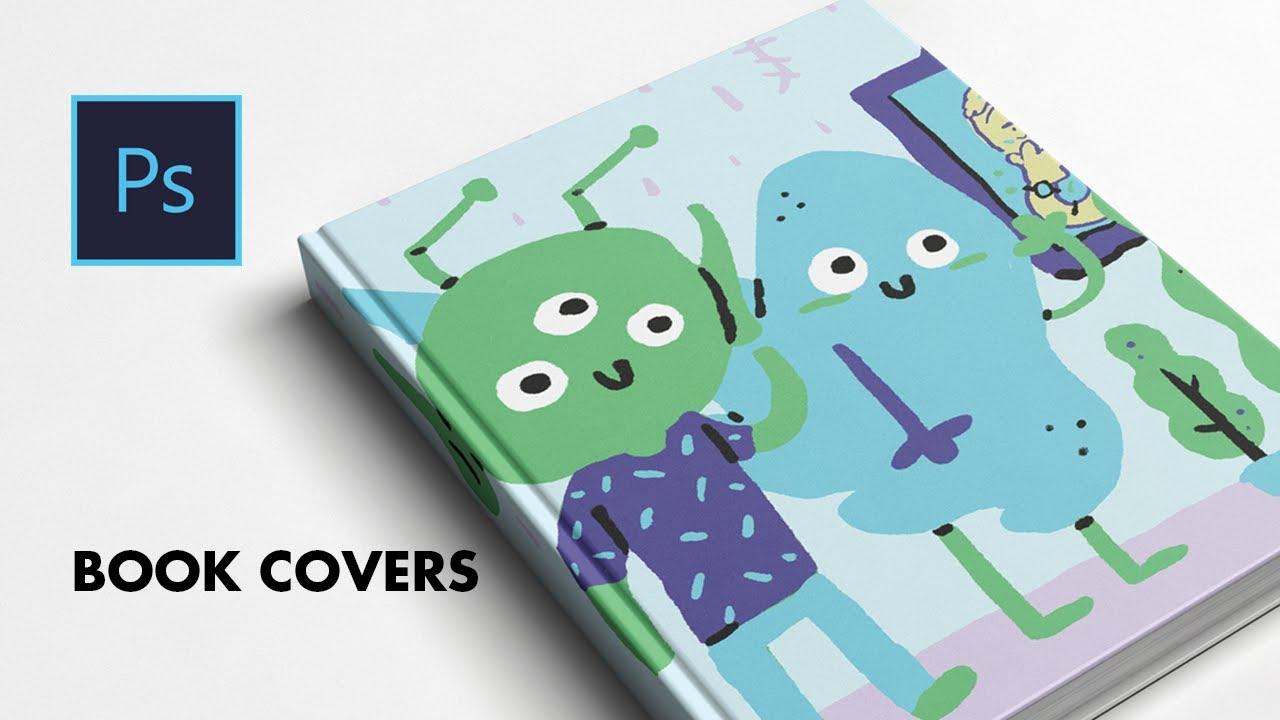 Children S Book Cover Mockup : Book cover design in photoshop adobe cc children s