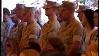 1st Battalion 1st Marines Memorial Ceremony. 28 September 2006