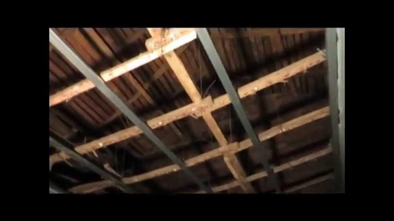 Pladur c mo colocar techos de pladur y quitar falsos - Techos falsos de madera ...