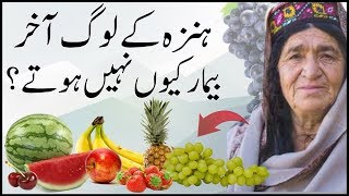 Hunza People Diet & Traditional Food
