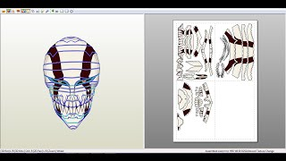 Descargar la mascara ICHIGO HOLLOW para papercraft.(Tamaño real)(Life Size)(Ichigo Hollow Mask