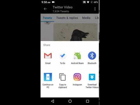 Download Twitter Videos & GIF