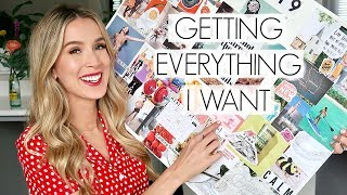 MAKING MY VISION BOARD 2019 GOALS DIY   leighannsays