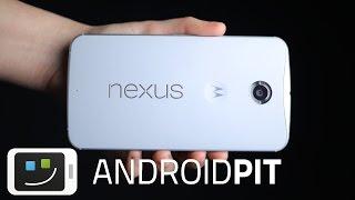 Google Nexus 6 : premier test en français