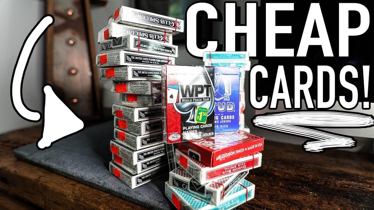 best quality casino cards