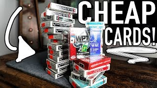 Finding HIGH QUALITY playing cards for CHEAP!!
