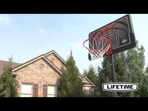 Lifetime 44'' Telescoping Basketball System | Model 90040 | Features & Benefits Video