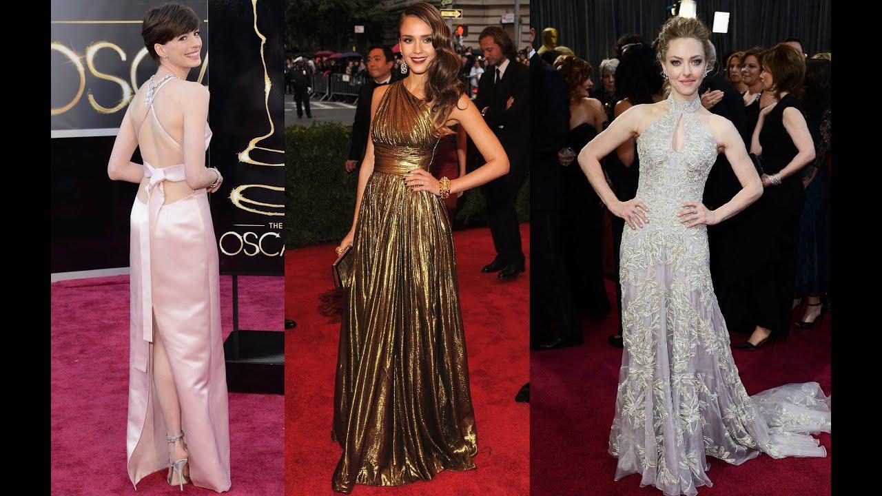 Vestidos longos de gala das famosas