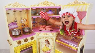 Download Roma and Diana Playing Cafe   Compilation video with food toys Mp3 and Videos