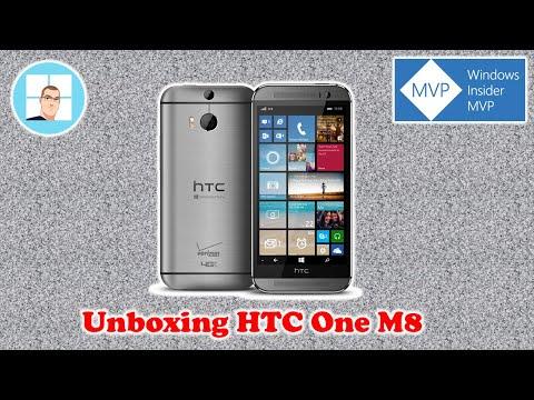 Unboxing HTC One M8 com Windows Phone 8.1 em Português Brasil