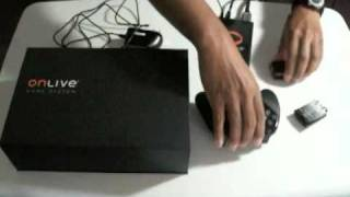 OnLive System Setup and Service Review