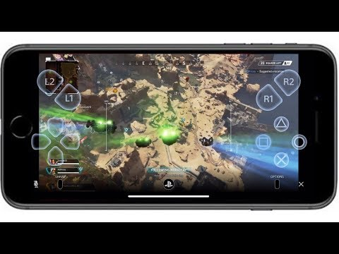 PS4 REMOTE PLAY WITH MOBILE (Playing Apex Legends on my Mobile) Playstation 6.50 Update