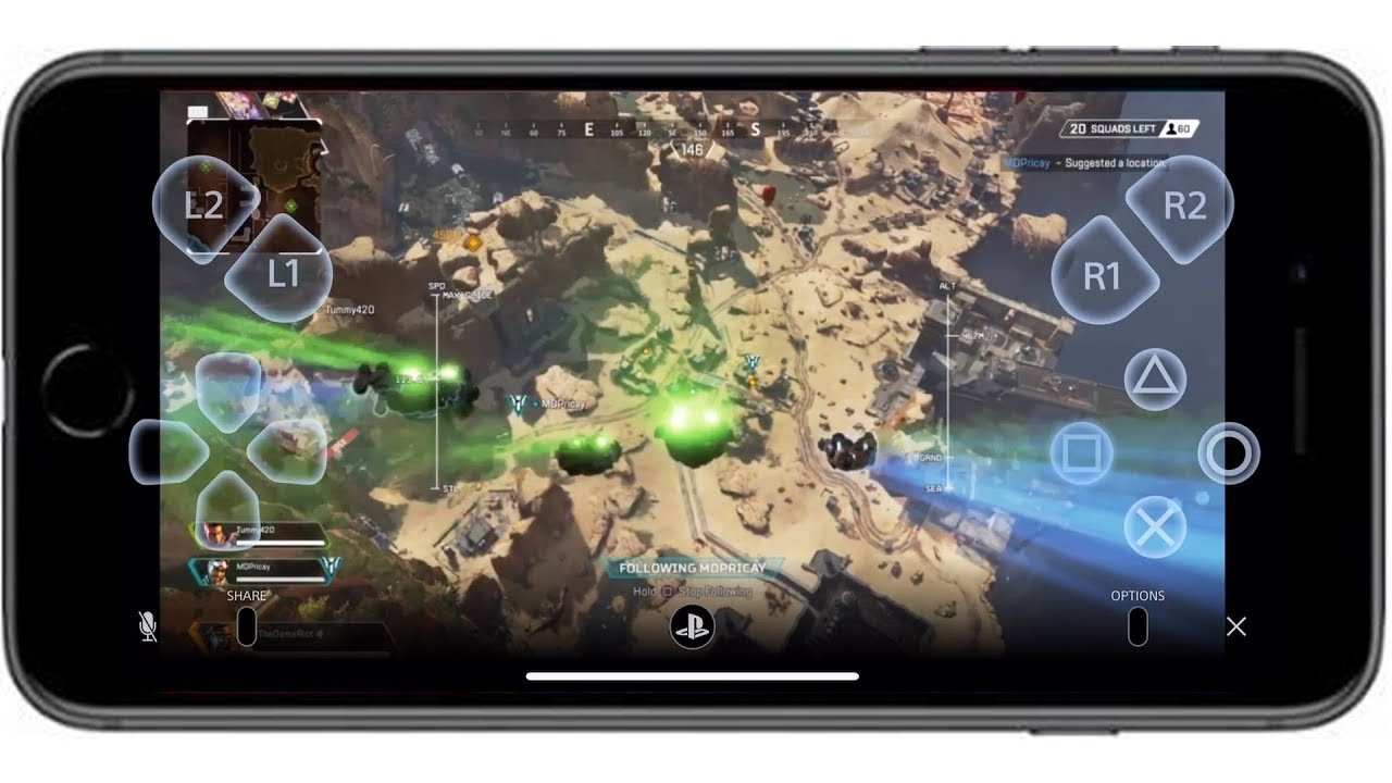 PS4 REMOTE PLAY WITH MOBILE (Playing Apex Legends on my Mobile) Playstation  6 50 Update