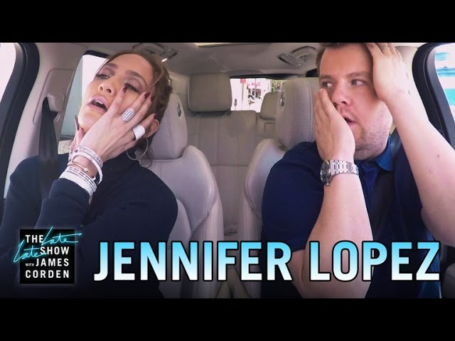 Jennifer Lopez Carpool Karaoke