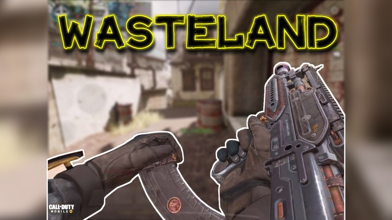 [COD MOBILE] BK-57 Wasteland Gameplay!!!