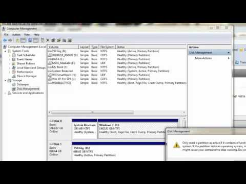 Setting a Partition