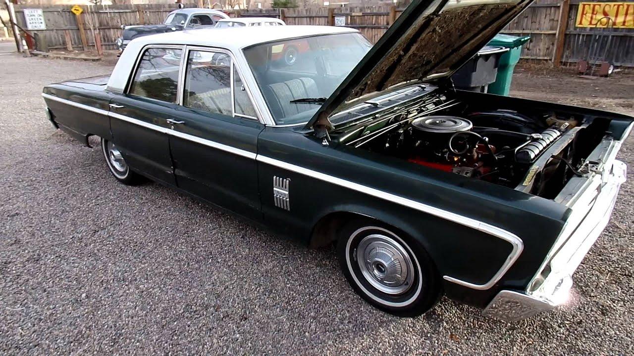 1966 Plymouth Fury 3 III Poly Head 318 V8 100K Miles