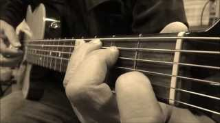 Guitar Class - Aubrey - Finger Picking and Chords Progression on Tom Anderson guitar