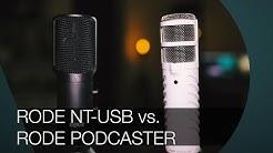 Rode NT-USB vs. Podcaster I Vergleich