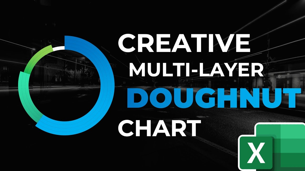 How to Create a Multi-Layer Doughnut Chart in Excel