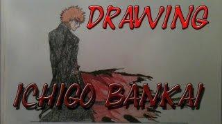 Drawing Ichigo Kurosaki Bankai by Zaromaru