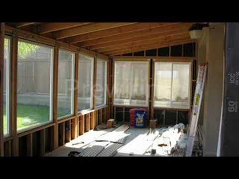diy patio room
