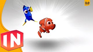 Disney Infinity 3.0 - Finding Dory Character Previews: Dory & Nemo