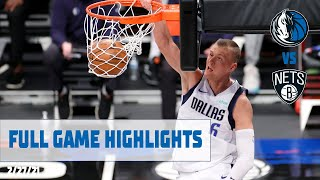 Kristaps Porzingis (18 points) Highlights vs. Brooklyn Nets