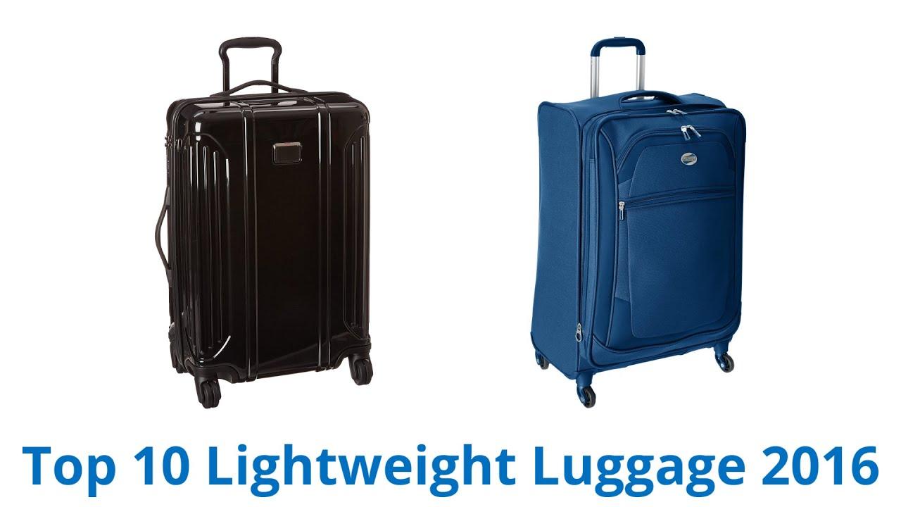 10 Best Lightweight Luggage 2016 - YouTube