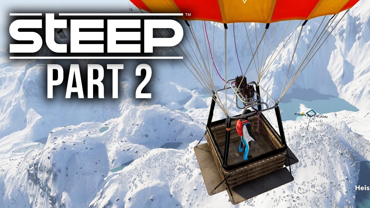 Steep gameplay walkthrough part 2 hot air balloon jump for Air balloon games