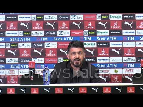 """Milan, Gattuso: """"Con Bakayoko parlerò nello spogliatoio e ci sentiranno tutti"""""""