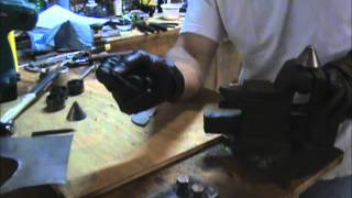 How to make a suppressor baffle without a lathe