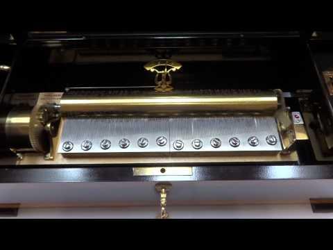 Massive Reuge 144 note Grand Cartel music box