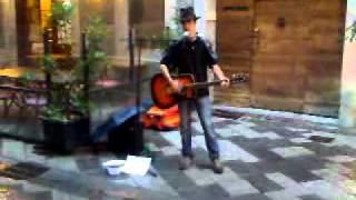Bob Dylan - Lonesome Day Blues - Fed's cover (live@Aosta - Festival degli Artisti di Strada)