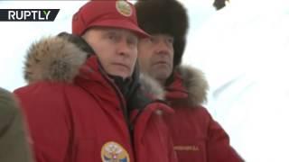 بوتين يستعرض كنوز القطب الشمالي ويدعو الأجانب للاستثمار