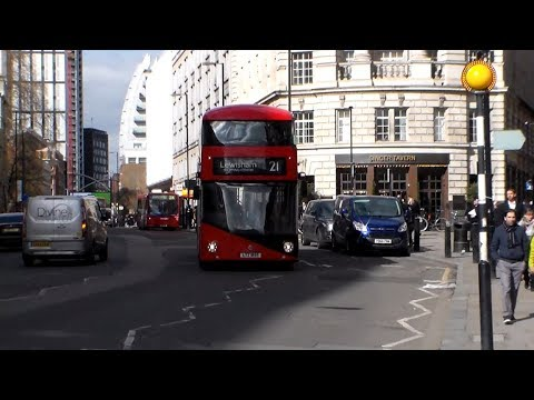 Buses at Finsbury Square 20/03/2018