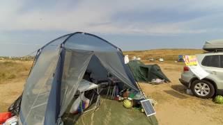 С палаткой на море / в кемпинг
