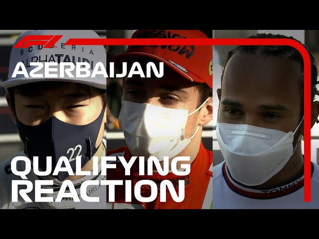 Joint-Most Red Flags Ever! Drivers React To Eventful Qualifying   2021 Azerbaijan Grand Prix