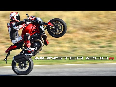 Ducati Monster 1200R 1st Ride - MotoGeo Review
