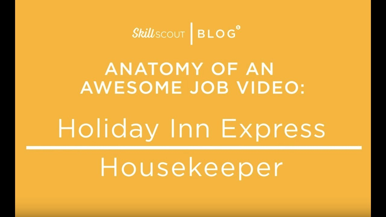 Anatomy Of An Awesome Job Video Holiday Inn Youtube