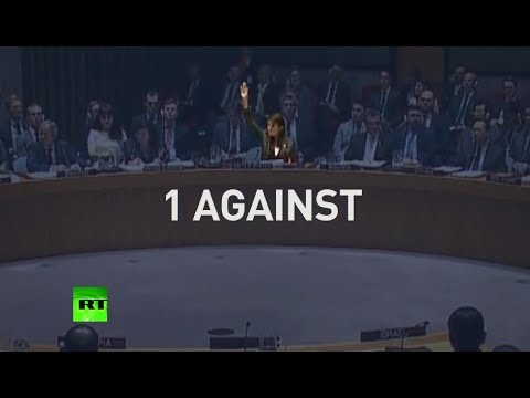 Word War at UNSC: Call for protection of Palestinians vetoed by US