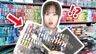 BUYING EVERYTHING at COPIC MARKER ART STORE!!